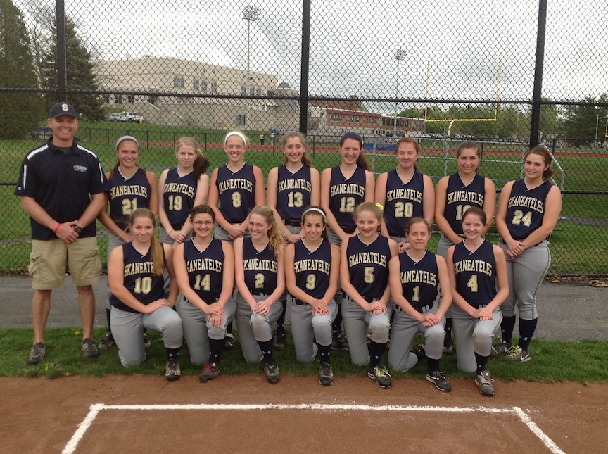 Skaneateles softball 2013