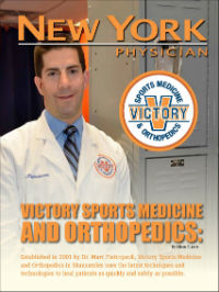 New York Physician Magazine – Cover